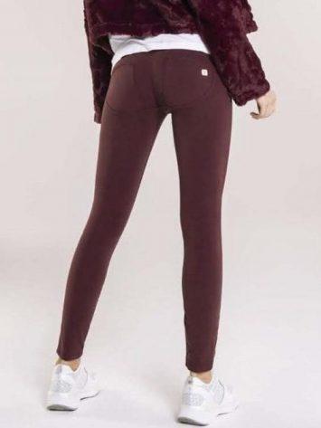 FREDDY WR.UP Evolution Wrup Snug Rope Pocket Pants – Burgundy