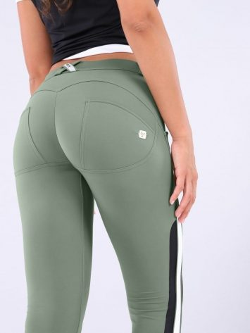 FREDDY WR.UP 7/8 pants WRUP5RF916-Regular Waist-Green