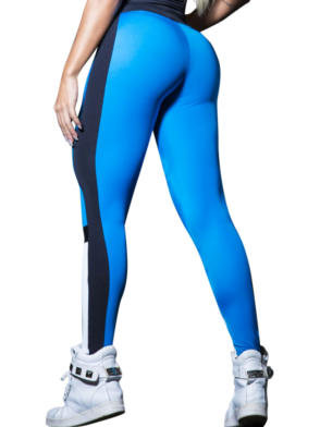 CANOAN Leggings 11545 Blue Black White- Sexy Workout Leggings