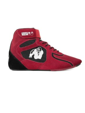 Gorilla Wear Perry High Tops Pro – Red