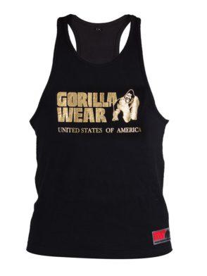 Gorilla Wear Classic Tank Top – Gold/Black
