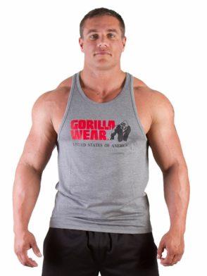 Gorilla Wear Classic Tank Top – Gray