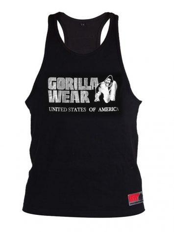 Gorilla Wear Classic Tank Top - Silver/Black