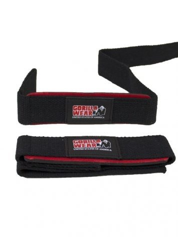 Gorilla Wear Padded Lifting Straps – Black