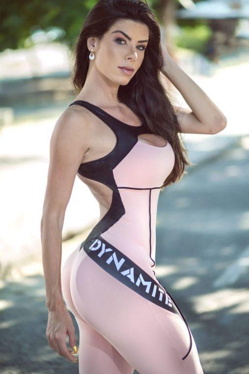 DYNAMITE Jumpsuit ML2018 Flamingo Fitness - One-Piece