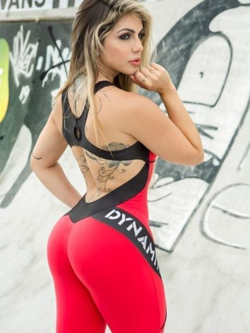 DYNAMITE Jumpsuit ML2018 Sunset Fitnes Overalls – One-Piece