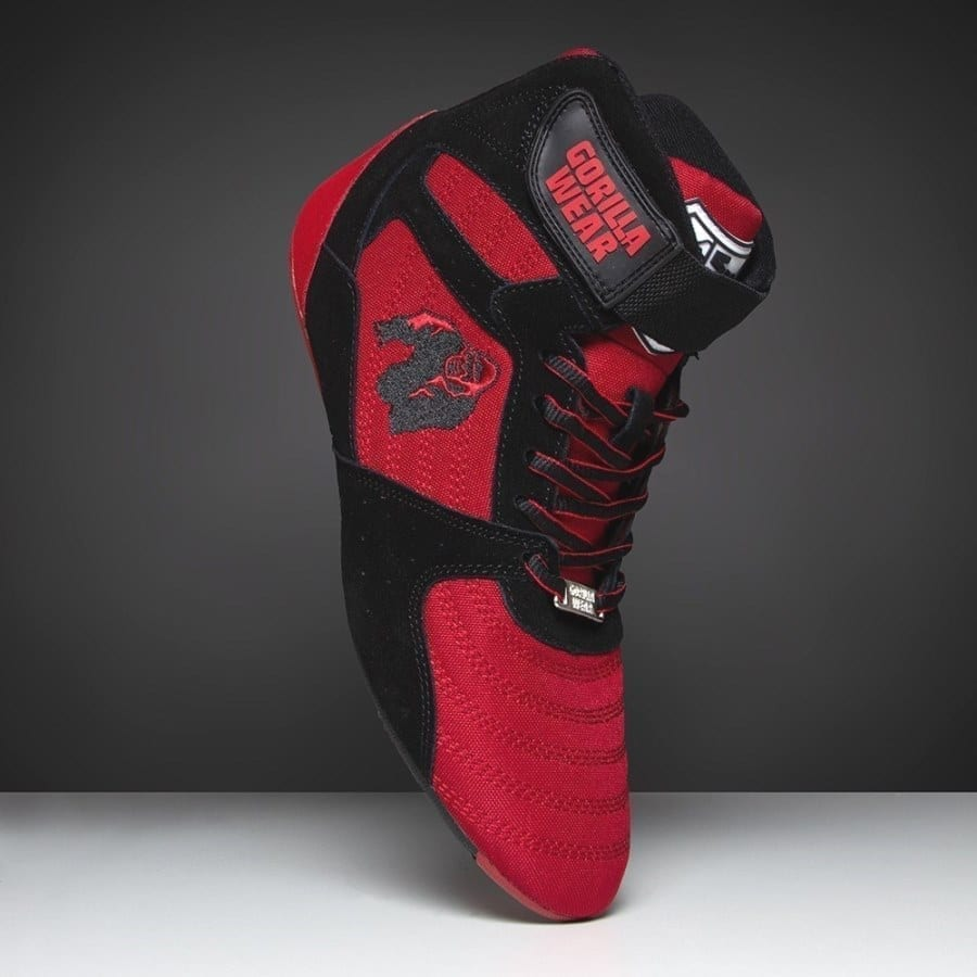 ceac5bc67d4 Gorilla Wear Perry High Tops Pro - Red/Black