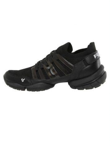 Freddy Fitness Footwear – 3Pro Studio Cage Sport Shoe with Triple Sole – Black