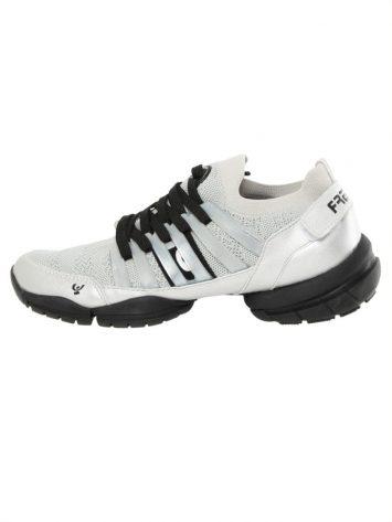Freddy Fitness Footwear – 3Pro Studio Cage Sport Shoe with Triple Sole – White