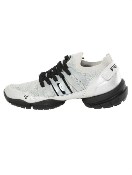 Freddy Fitness Footwear - 3Pro Studio Cage Sport Shoe with Triple Sole - White