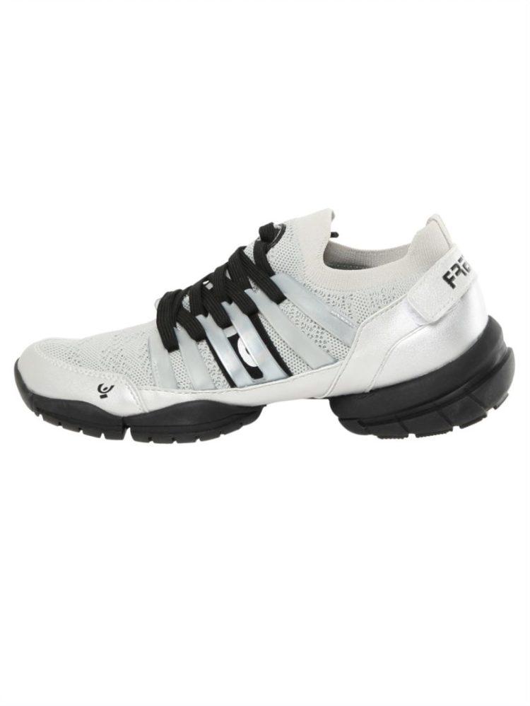 Freddy Fitness Footwear - 3Pro Studio Cage Sport Shoe with Triple Sole - White