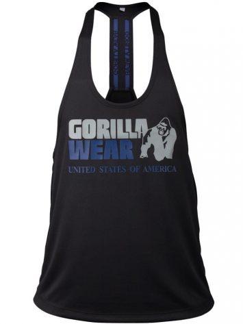 Gorilla Wear Nashville Tank Top – Black/Navy