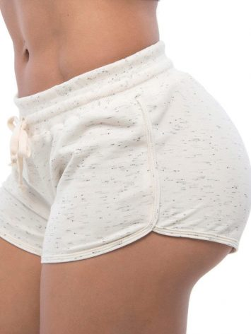 BFB Activewear Shorts Moletinho Sport – Off White