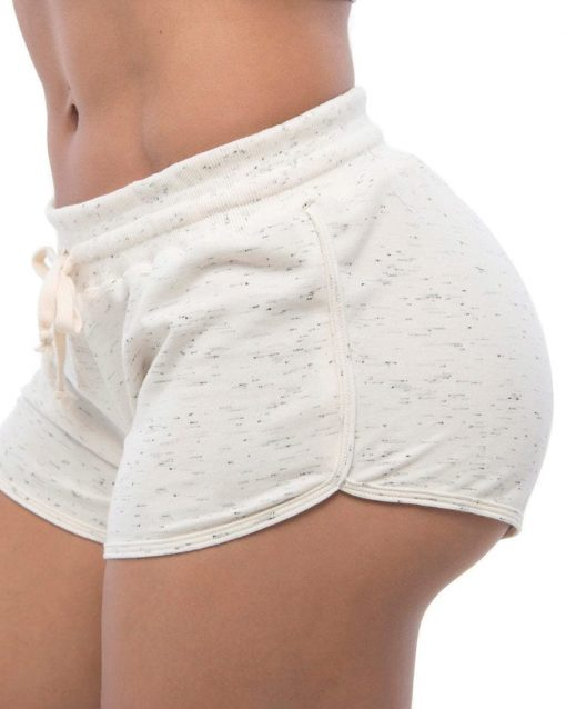 BFB Activewear Shorts Moletinho Sport - Off White