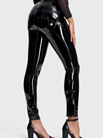 FREDDY WR.UP High Rise WRUP – Skinny Latex Pants WRUP1HF930- Black