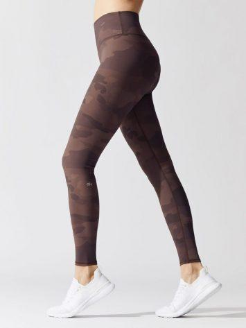 ALO YOGA High-Waist Vapor Legging -coco camo