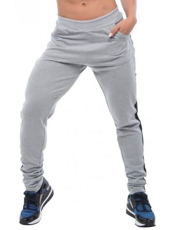 BFB Activewear Jogger Trousers Leggings – Gray