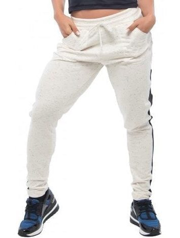 BFB Activewear Jogger Trousers Leggings – Bone White