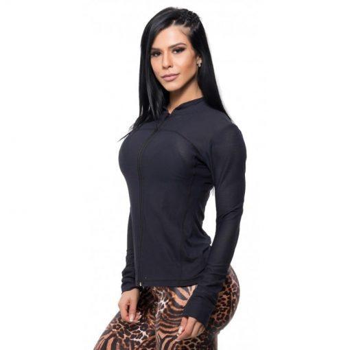 BFB Activewear Gym Jacket - Black