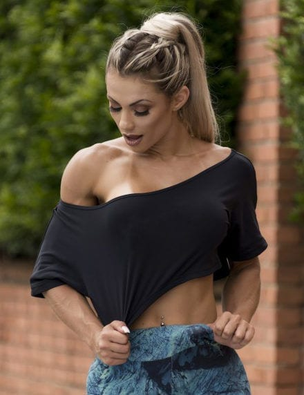 BFB Activewear Cropped Top Stylish loose fit - Black