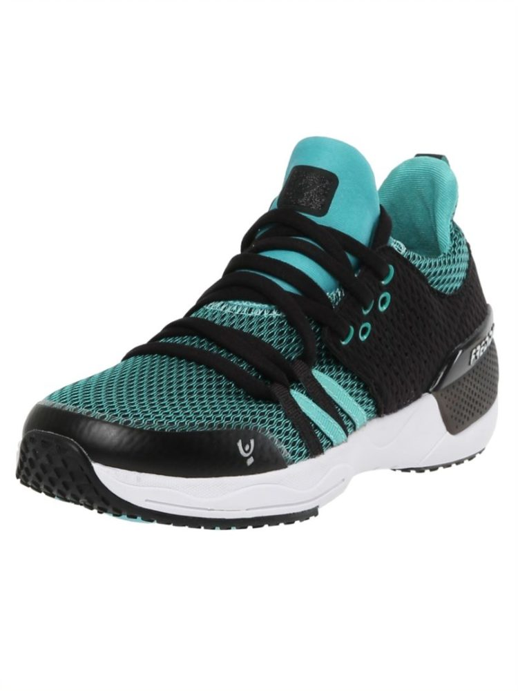 Freddy Fitness Footwear - Feline Skinair Active Breathability Sport Shoe - Black/Cyan