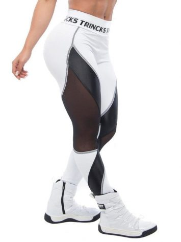 BFB Activewear Leggings Favorite- Black/White