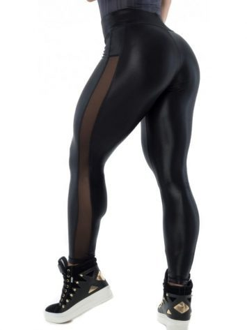 BFB Activewear Leggings Glow Cirre – Black