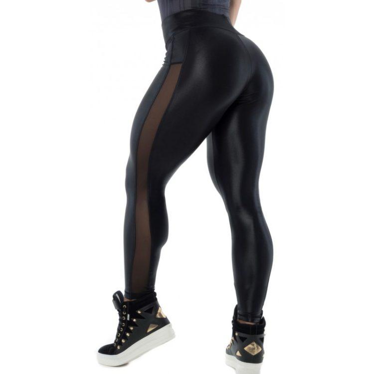 BFB Activewear Leggings Glow Cirre - Black