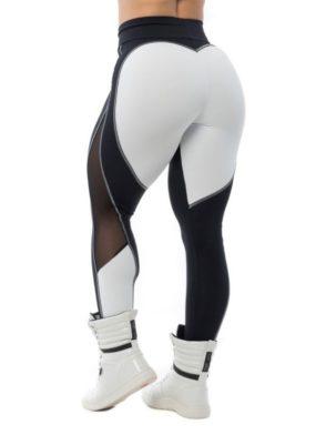 BFB Activewear Leggings Sweet Heart – Black/White