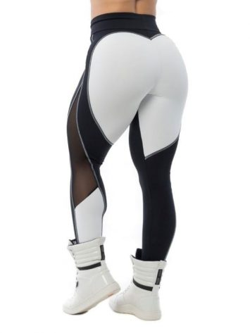 BFB Activewear Leggings Sweet Heart – Black/White