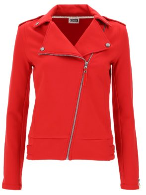 FREDDY WR.UP Jacket Top Millenials – Zipper w/Print – Red