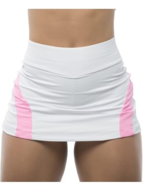 BFB Activewear Skort Skirt Dolce Shape – White
