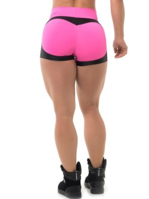 BFB Activewear Shorts Fabulous Apple Booty - Pink Power