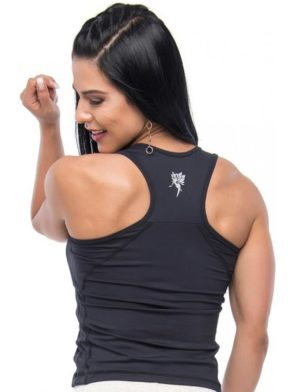 BFB Activewear Tank Top Running Black Regata – black