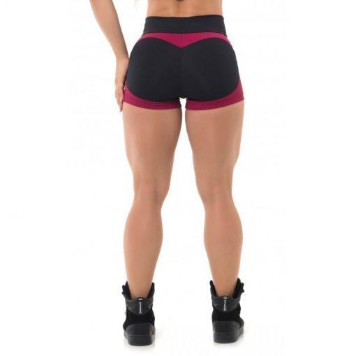 BFB Activewear Shorts FABULOUS APPLE BOOTY Marsala-Sexy Shorts