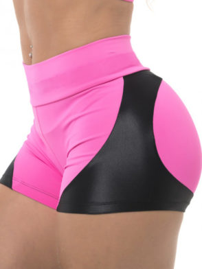 BFB Activewear Shorts Fabulous Apple Booty – Pink Power
