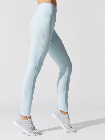 ALO Yoga High Waist Lounge Legging – Powder Blue Heather
