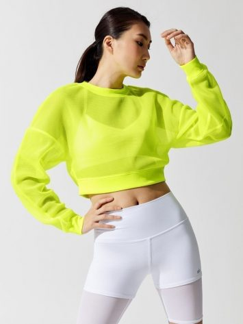 ALO Yoga Row Long Sleeve – Highlighter
