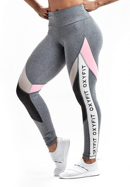 Leggings Active 64241 Gray Heather - Sexy Workout Leggings