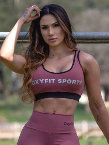 Oxyfit Sports Bra Top Active 27240 Dusty Rose
