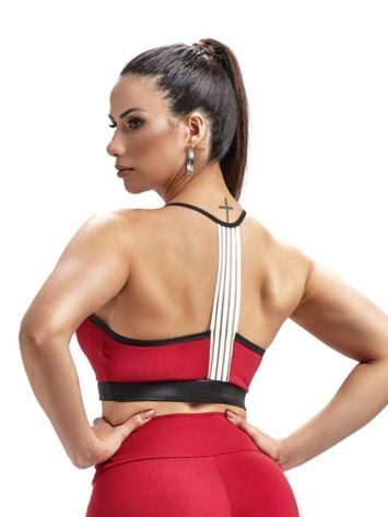 Sports Bra Top Team 27250 Red