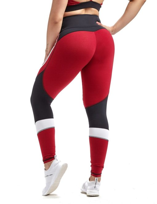 Oxyfit Leggings Champion 642467 Red Black