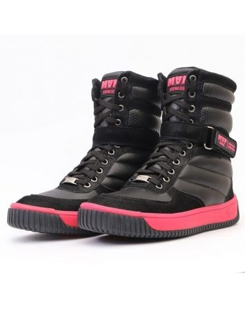 MVP Boot Fashion Sneakers – Black Pink