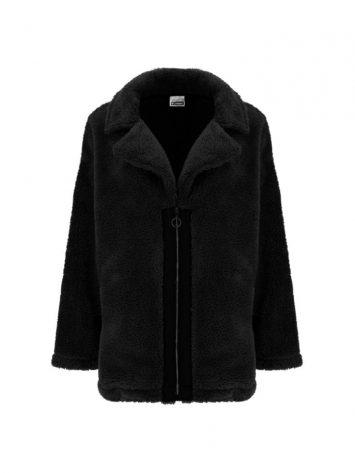 FREDDY Sherpa Fusion Jacket  F9WFNJ1- Black