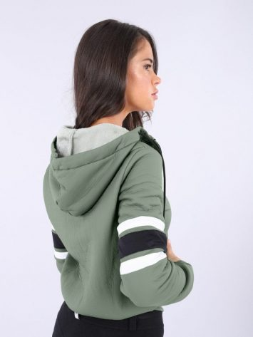 FREDDY WR.UP Full Zip Hoody Jacket - F9WTWS2 - Green