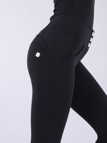 FREDDY WR.UP® Mid-Rise Skinny-Fit Pants IN D.I.W.O.® PRO WRUP1MC005 -Black