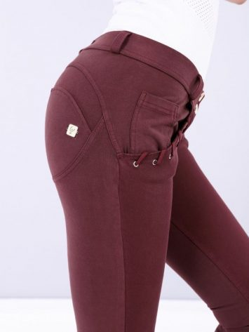FREDDY WR.UP Evolution Rope Pocket Pants WRUP2RF911- Burgundy