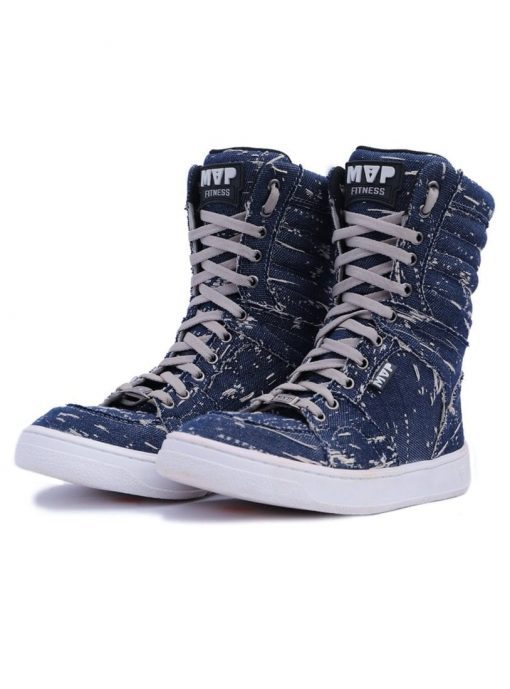 MVP Fitness Boot Training 70122 Destroyed Navy Sneakers