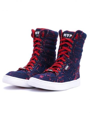 MVP Fitness Boot Training 70122 Destroyed Red Sneakers