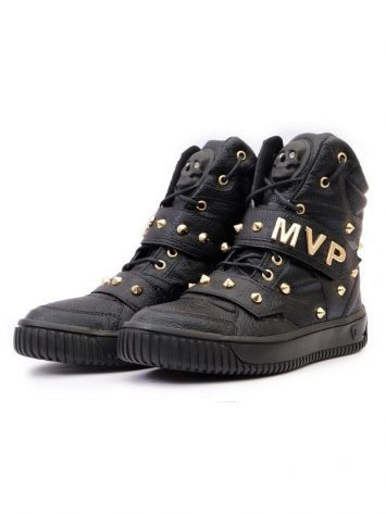 MVP Fitness Hard Skull 70107 Bright Black Sneakers